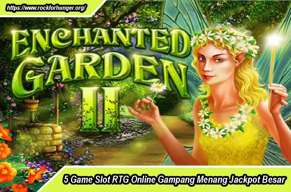 5 Game Slot RTG Online Gampang Menang Jackpot Besar